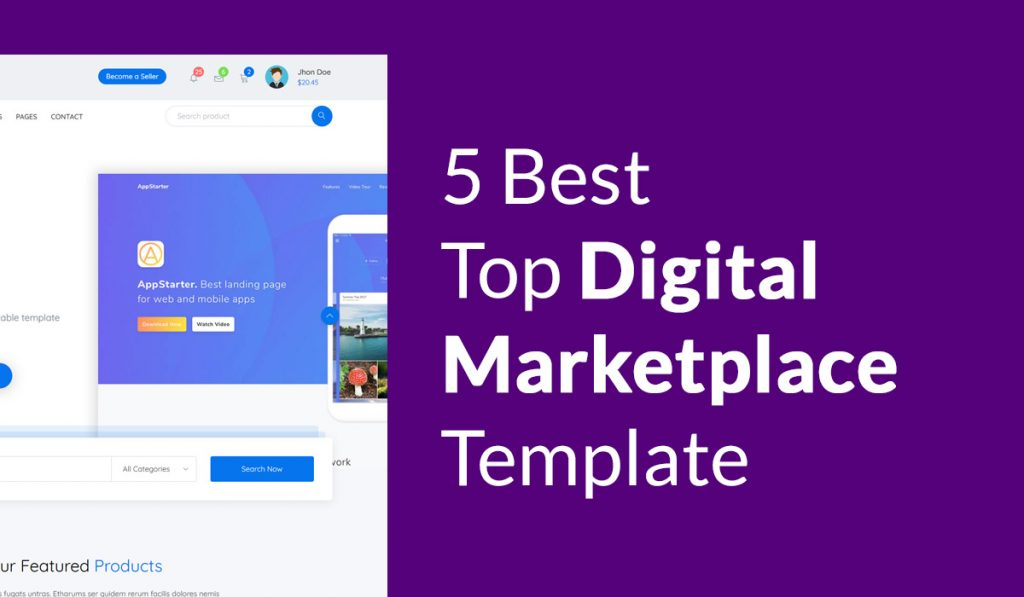 5 best Digitla marketing Template